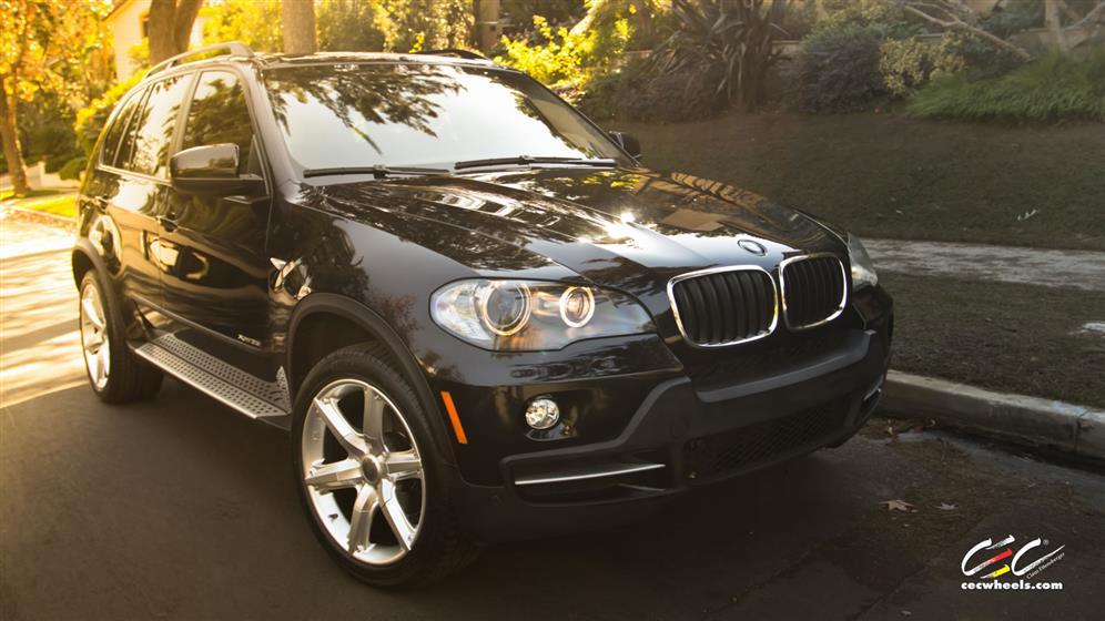 BMW X5 with Custom Wheels