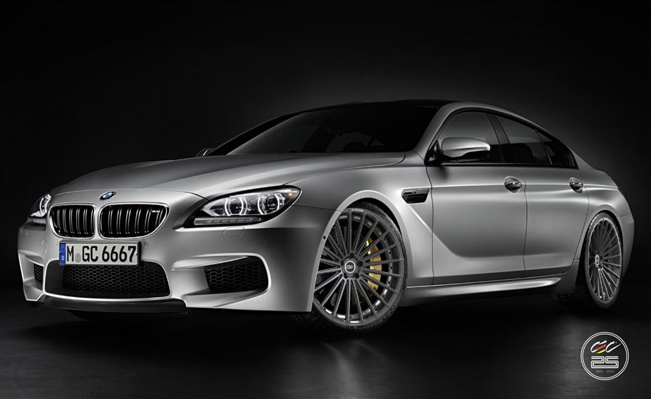 BMW M6 Gran Coupe with Custom Wheels