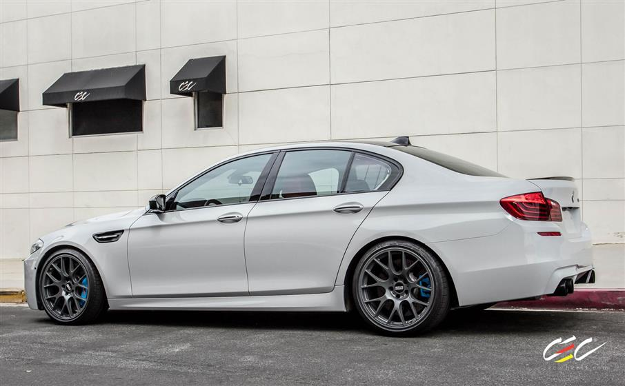 BMW M5 with Custom Wheels