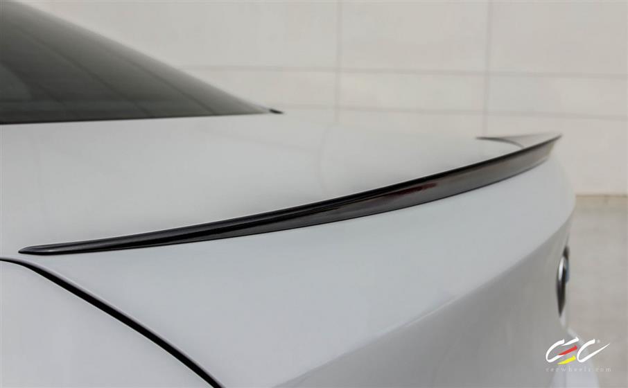 BMW M5 with Custom Wheels