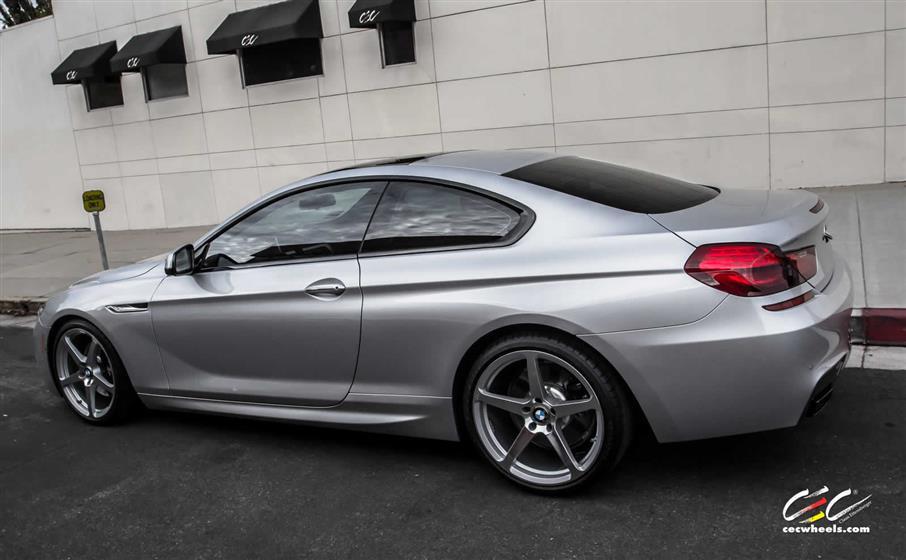BMW 650i with Custom Wheels