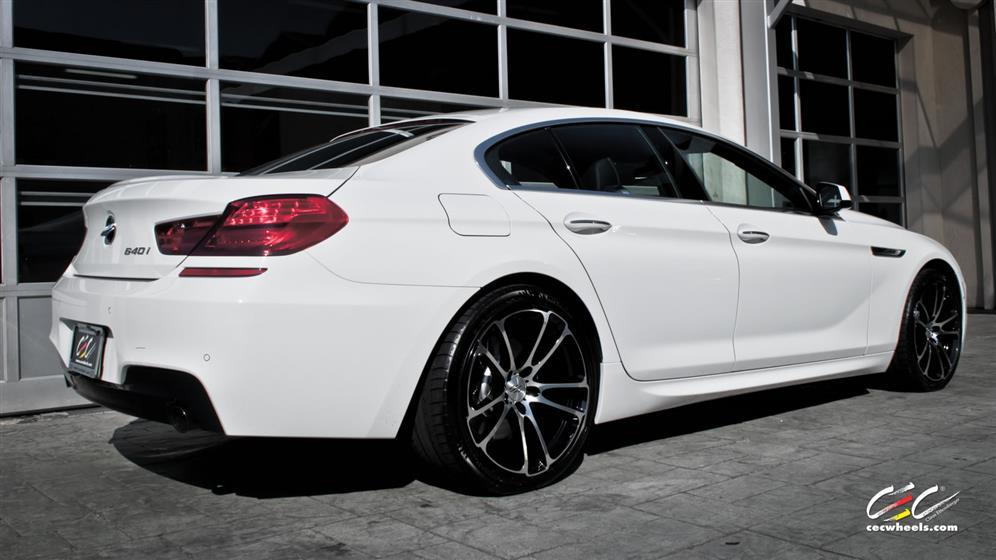 BMW 640i Gran Coupé with Custom Wheels