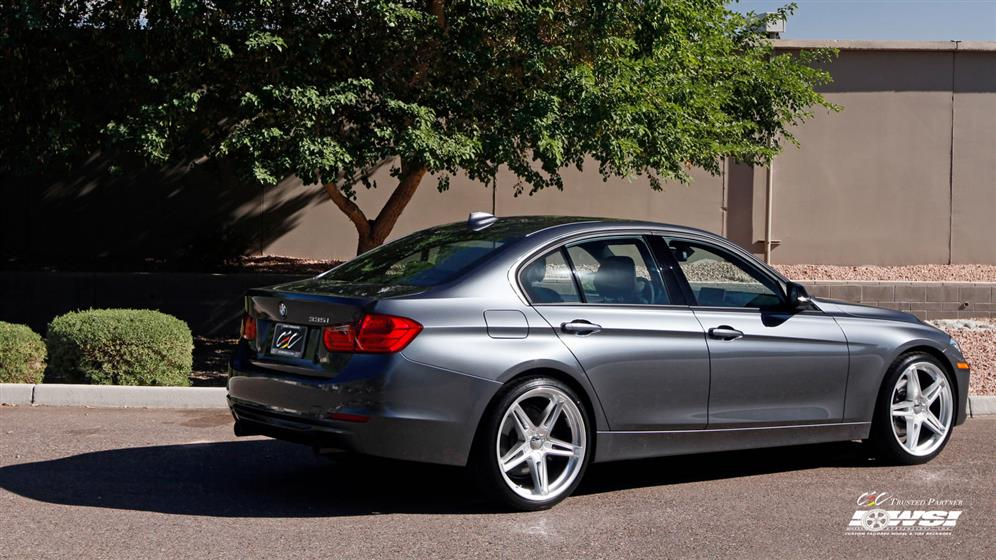 BMW 3-Series with Custom Wheels