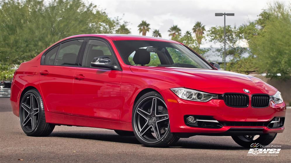 BMW 3-Series with Custom Wheels