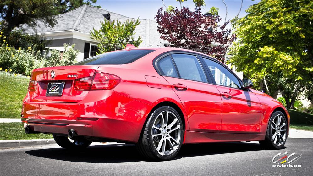 BMW 335i with Custom Wheels