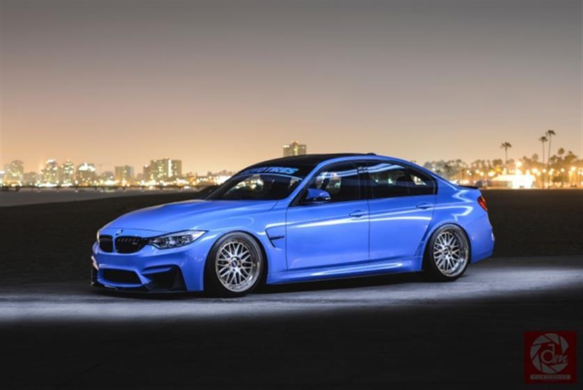 2015 Blue BMW M3,BMW