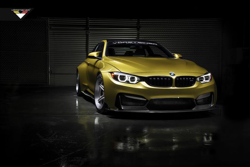 Austin Yellow BMW M4,BMW