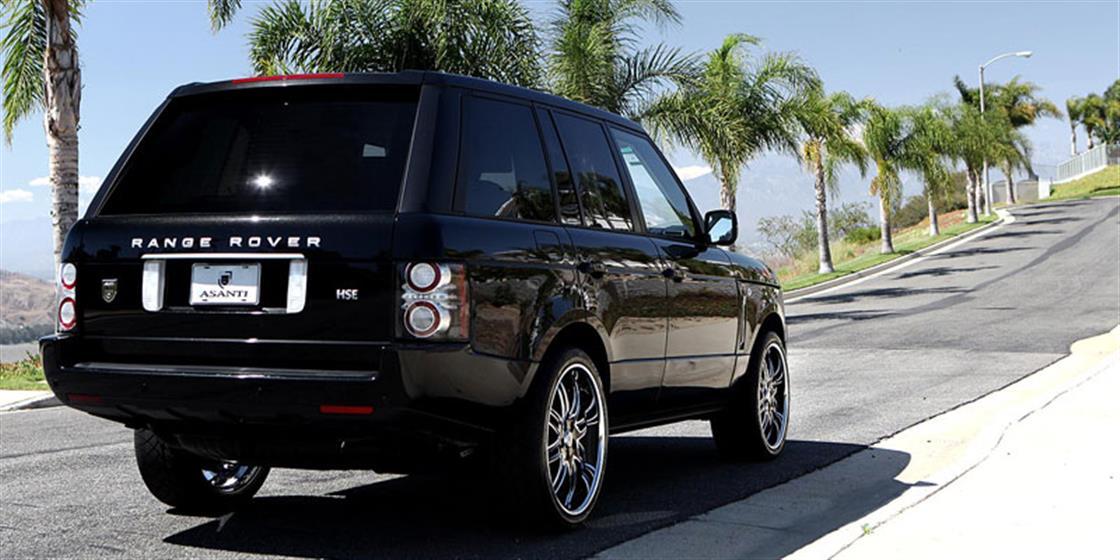 Range Rover HSE With Asanti AF-163 Wheels
