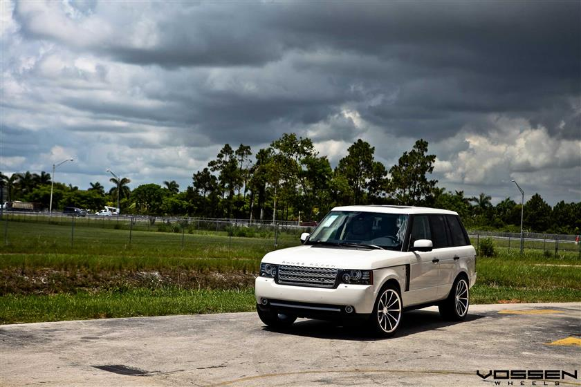 Land Rover Range Rover with Vossen VVSCV1 Wheels