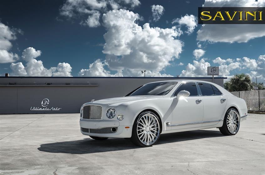 Bentley Mulsanne on Savini Wheels BS5