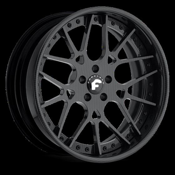 Audi R8 with Forgiato Maglia Wheels