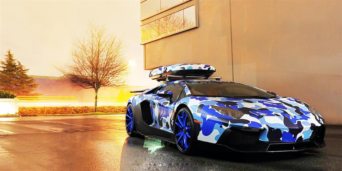 Lamborghini Aventador with Forgiato F2.09 Wheels
