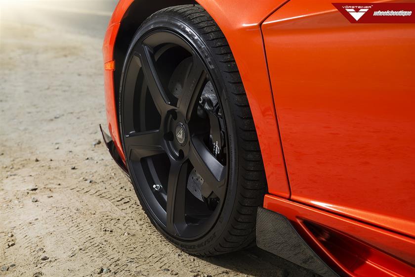 Lamborghini Aventador on Vorsteiner VSE-005 Wheels
