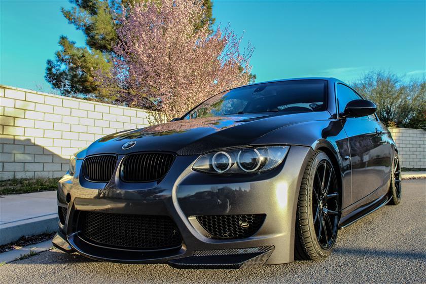 Paint Correction On Grey BMW 335i,BMW