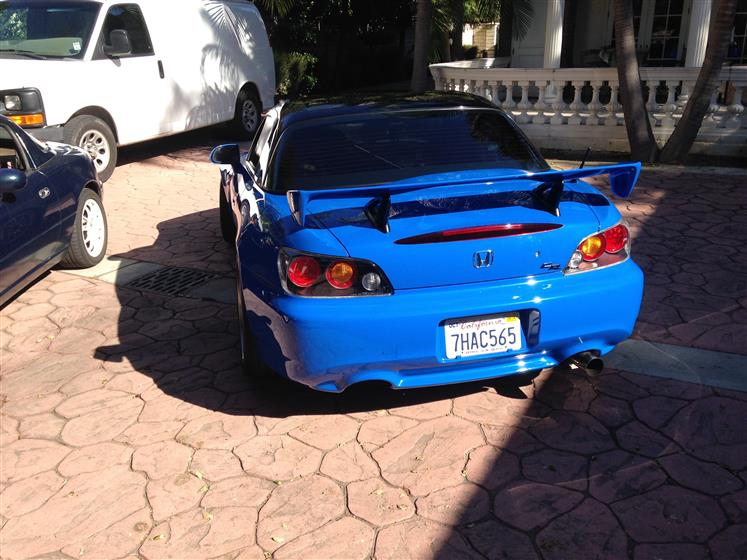 Detailed Club Racing Edition Honda S2000