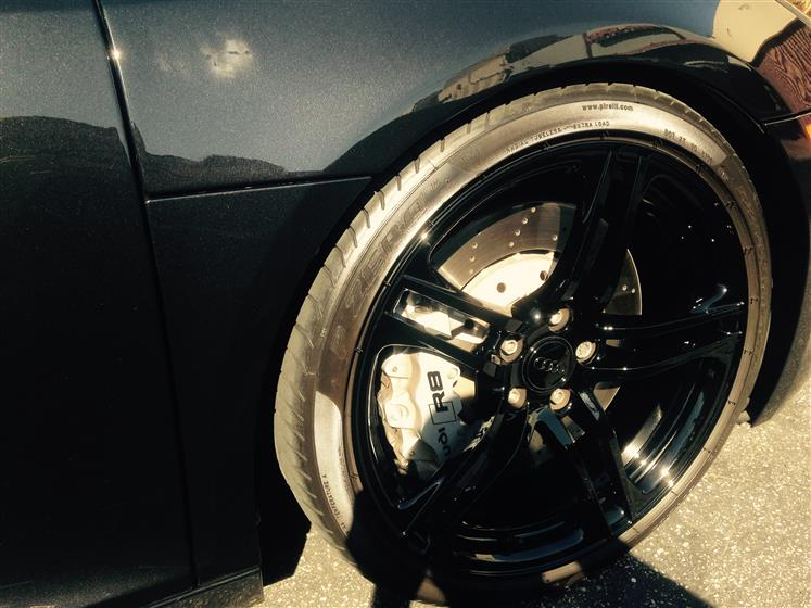 Detailed Black Audi R8