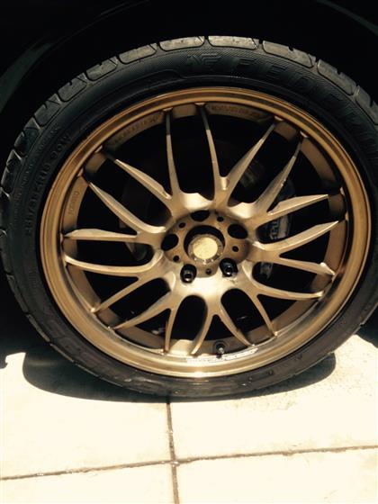 Polished And Waxed Black Mazda RX-7