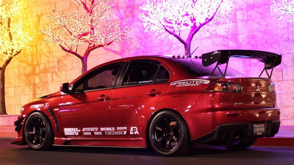 2010 Mitsubishi Evolution X GSR