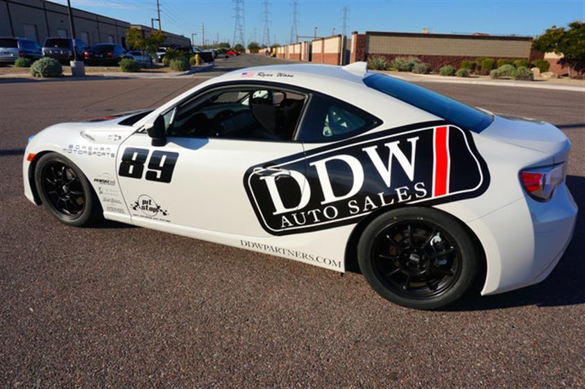 2015 DDW Partners FRS Race Car
