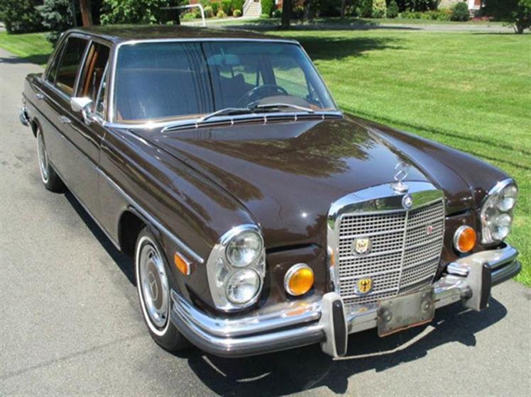 1972 MERCEDES BENZ 280SEL $14,500