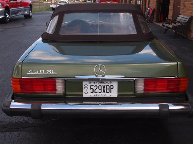 1974 Mercedes 450 SL $16,000