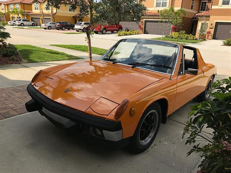 1973 Porssche 914 1.7 Roadster $17,500