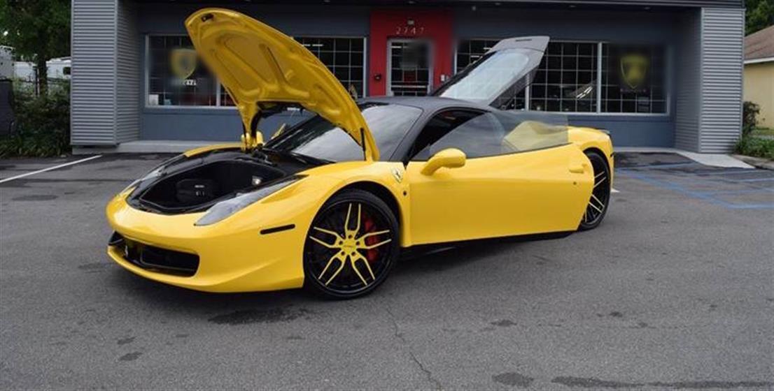 2010 FERRARI 458 ITALIA $187,000