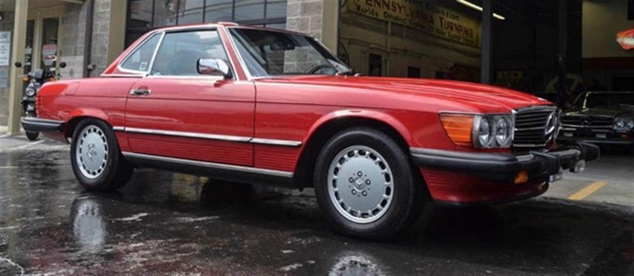 1989 MercedesBenz 560SL $21,500