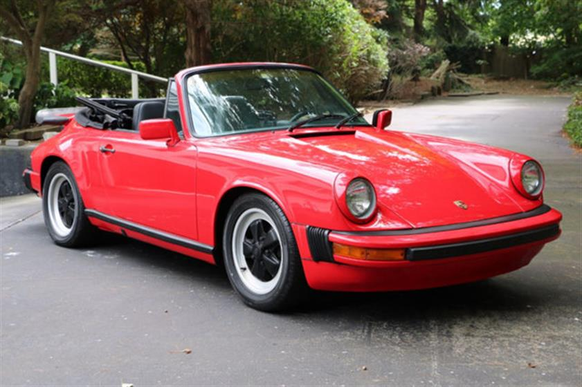 1978 Porsche 911 Cabriolet $51,500