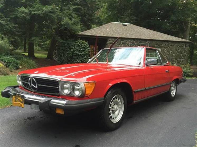 1978 Mercedes-Benz 450 SL Convertible $14,500
