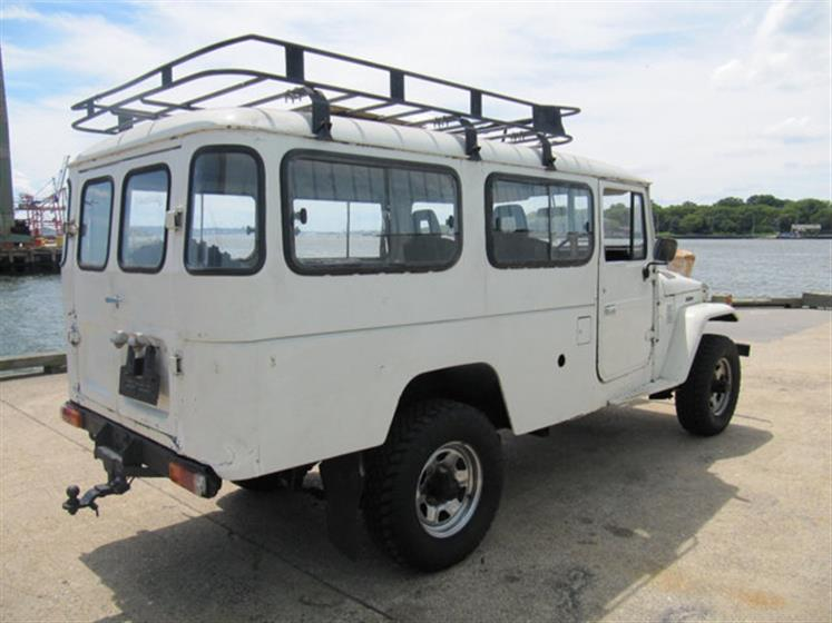 1983 Toyota Land Cruiser HJ47 Troop Carrie $21,000