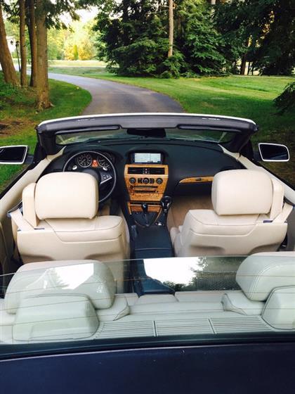 2004 BMW 645CI Convertible $21,500