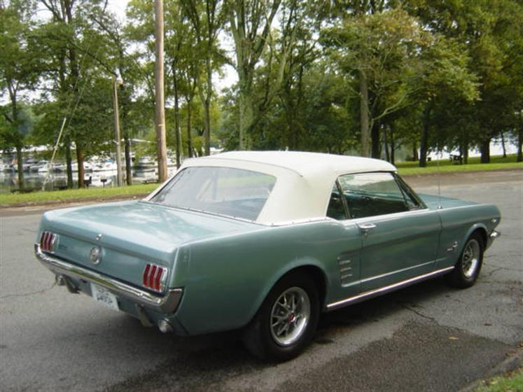 1966 Ford Mustang Convertible $22,900