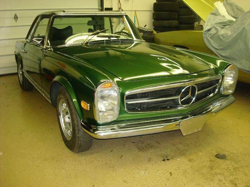 1969 Mercedes Benz 280SL $117,000