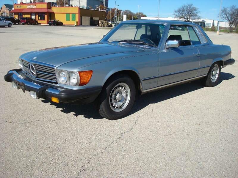 1981 Mercedes Benz 380SLC $5,800