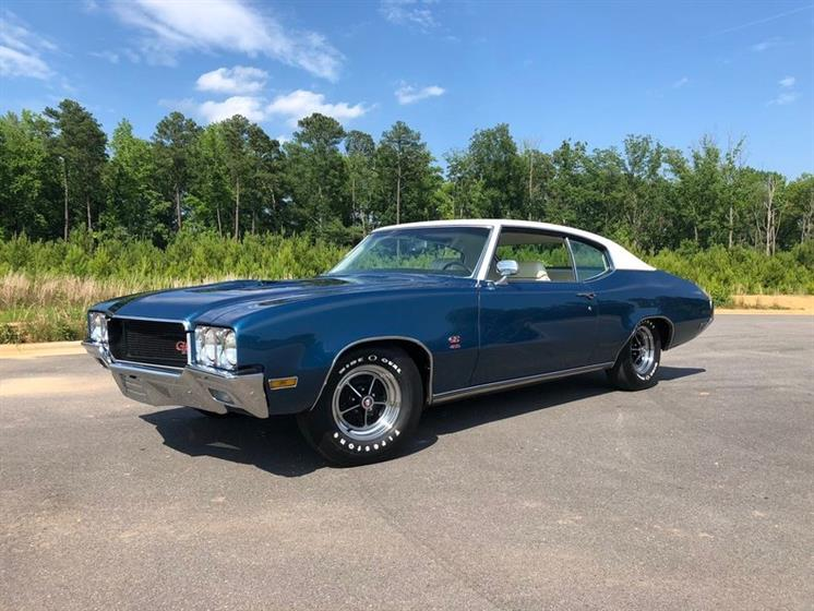 1970 Buick GS 455 $38,900  ,Buick