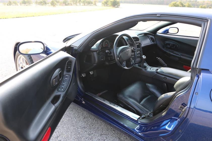 2004 Corvette Z06 Commemorative Edition $21,995