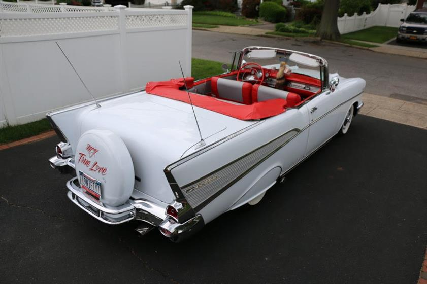1957 Chevrolet Bel Air Convertible $69,995