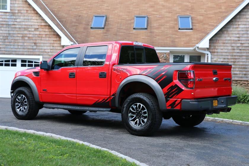 2013 Ford F150 Raptor Roush Edition $48,495