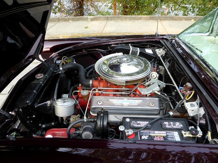 1957 Ford Thunderbird Convertible $48,500