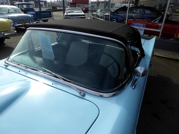 1957 Ford Thunderbird Convertible Both Tops$40,500