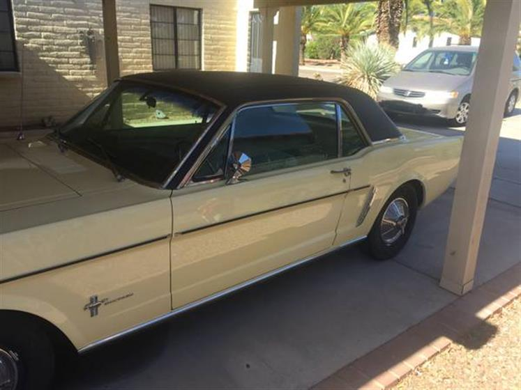 1965 Ford Mustang $16,000