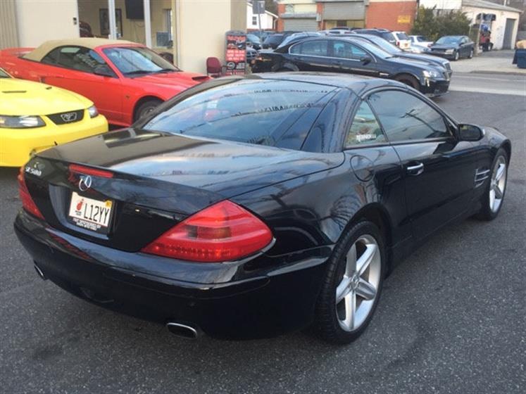 2004 Mercedes Benz SL500 $13,000