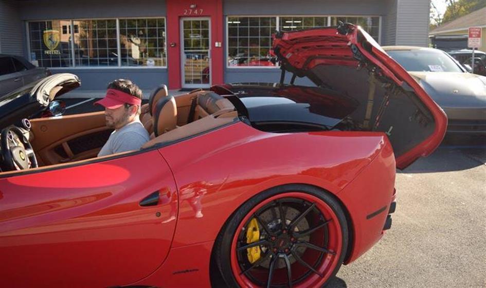 2012 Ferrari California $125,900
