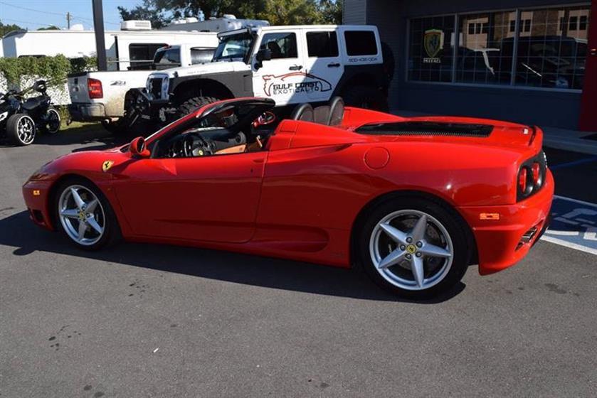 2004 Ferrari 360 Spider $103,900