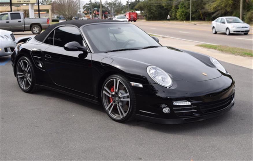 2013 Porsche 911 Turbo Cabriolet $101,995