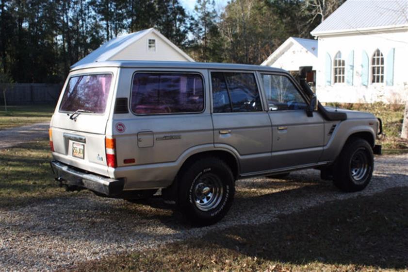 1987 Toyota Land Cruiser 4x4 $13,400