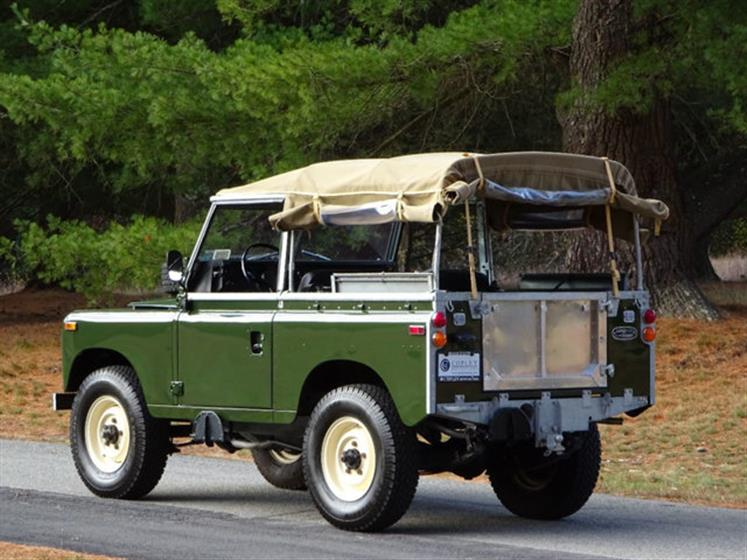 1974 Land Rover Series III For Sale  $56,995