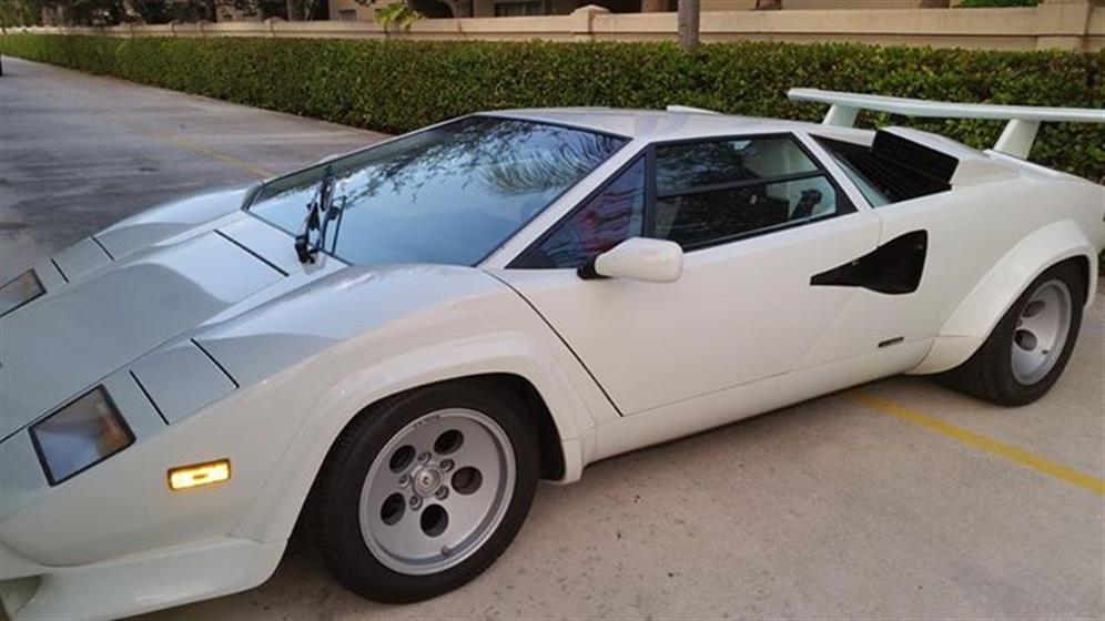 1987 Lamborghini Countach QV $380,000