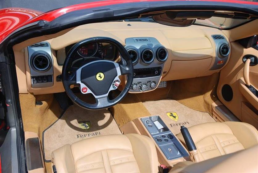 2007 Ferrari F430 F1 Spider 2dr Convert. $130,900